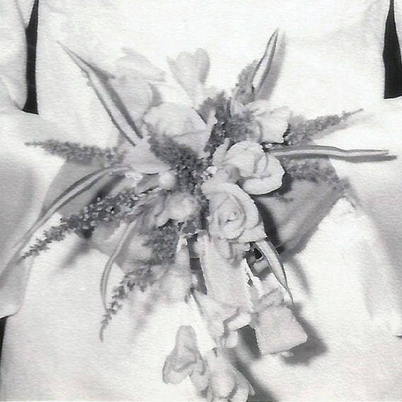 1969 wedding bouquet