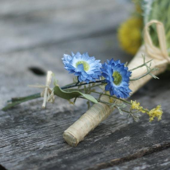Meadow flower buttonhole