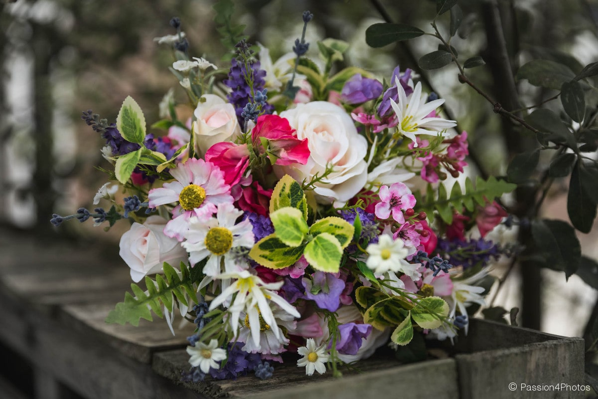 cooper floral design wedding bouquet