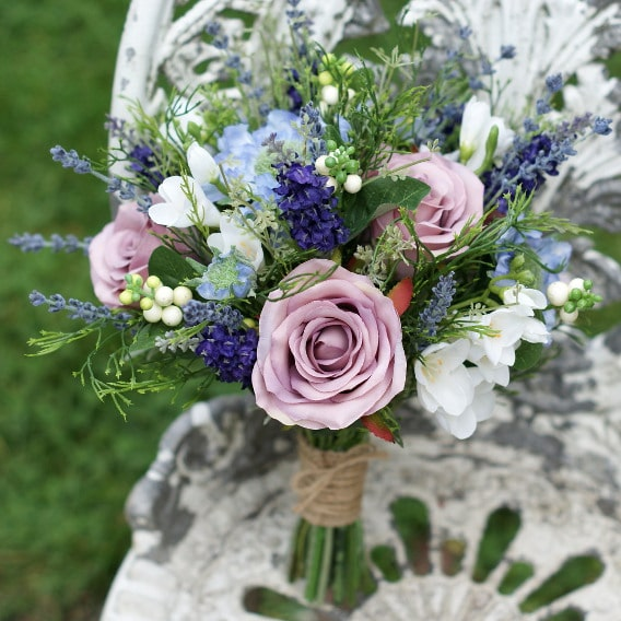 Replica garden flower bouquet