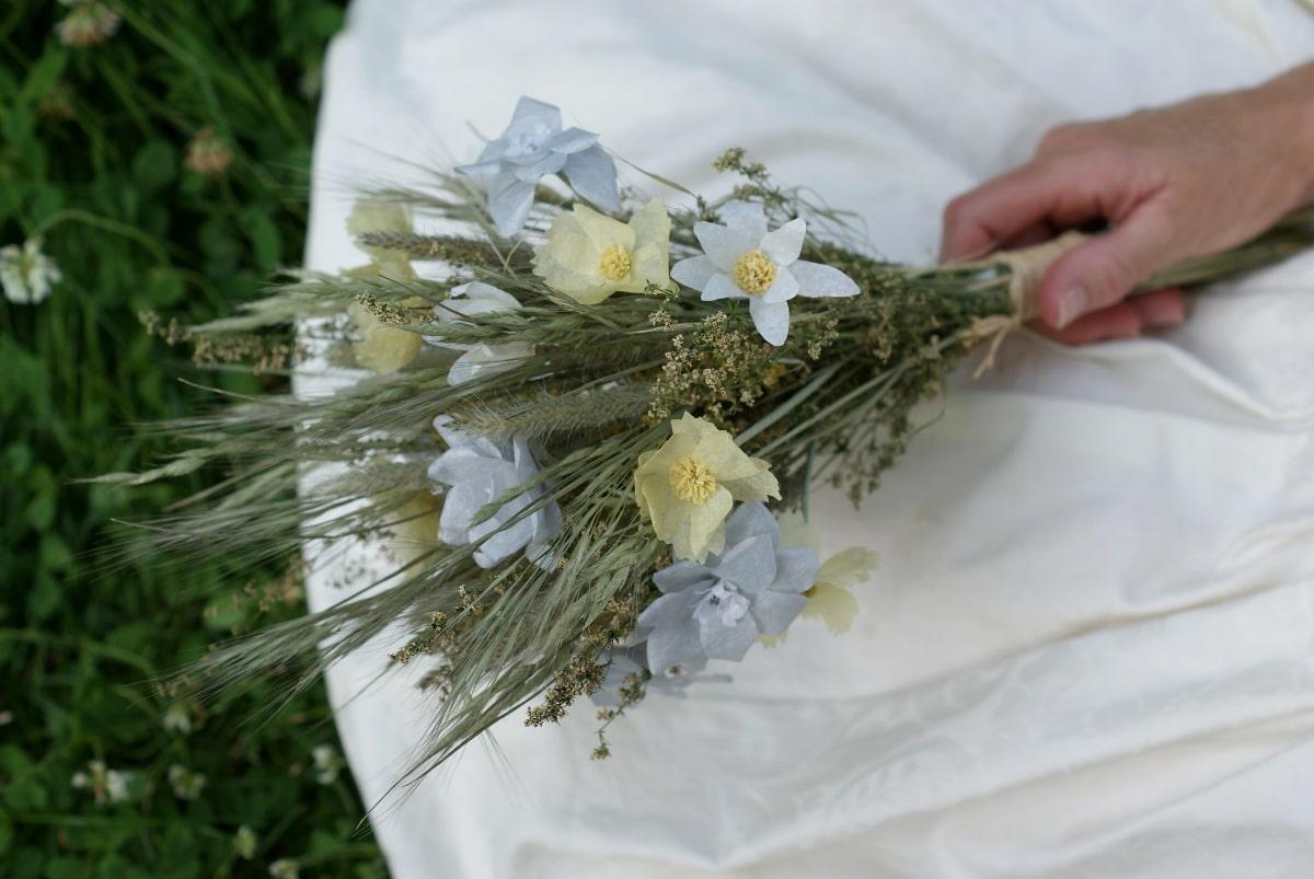 paper meadow flower bouquet